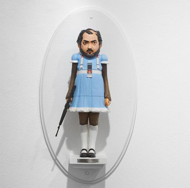 Фото №15 - Скульптор создает диковатые статуэтки знаменитых кинорежиссёров