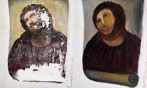 Фото №2 - Святой Георг с похмелья — ещё один шедевр реставрации