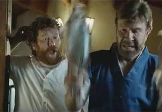 Чак Норрис снялся в российской рекламе пива!