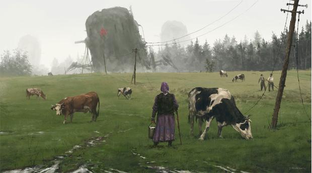Фото №8 - Зловещая стимпанковская живопись с элементами славянского быта