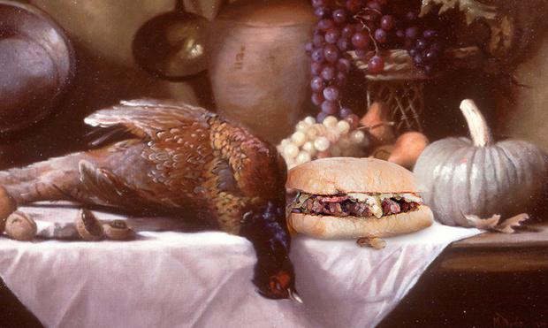 Фото №3 - Если бы бургеры появились на несколько столетий раньше