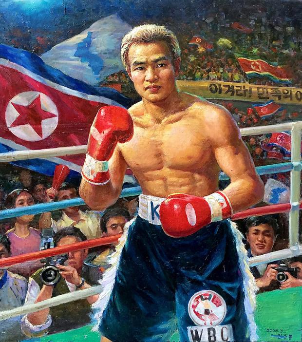 Фото №3 - Агитационные плакаты Северной Кореи, показывающие спортивные победы, которых не было