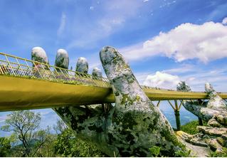 Идея для отпуска: Золотой мост, Вьетнам