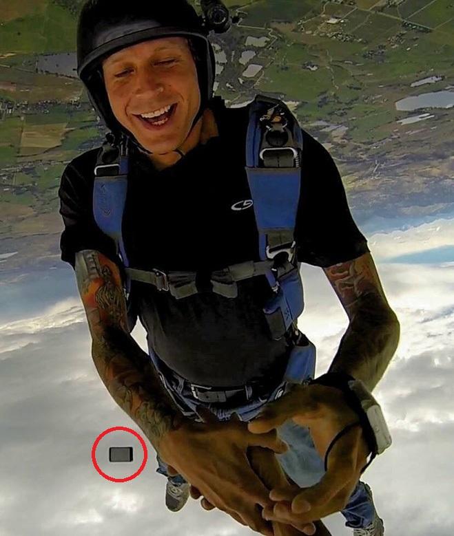 Неудачный прыжок с парашюта