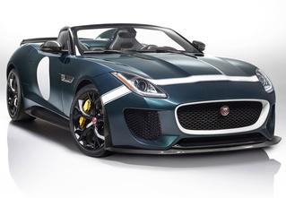 Родстер Jaguar F-Type Project 7 — до первой сотни разгоняется всего за 3,9 секунды