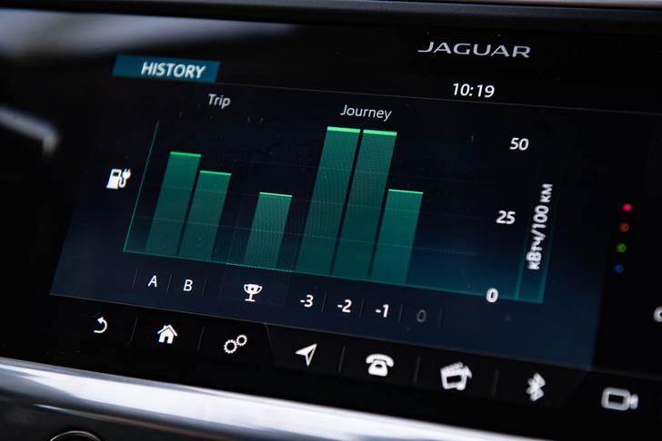 Фото №5 - Электричкой из Москвы до Питера на чистой энергии Jaguar I-Pace