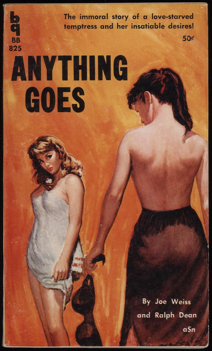 Фото №9 - Обложки старых эротических книг про лесбиянок!