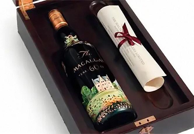 Фото №1 - Скока-скока? Самая дорогая в истории бутылка виски ждет своего покупателя