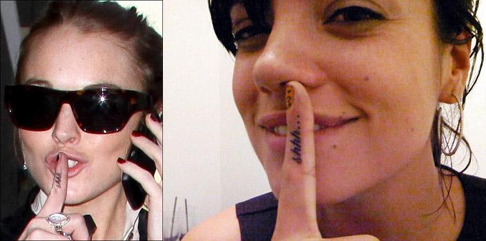 Фото №4 - Странные звездные татуировки