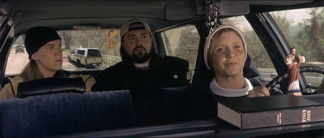 Фото №6 - 9 божественных фактов о фильмах «Догма» и «Джей и Молчаливый Боб»