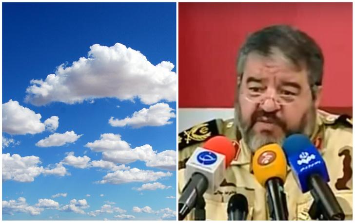 Фото №1 - Иран обвинил Израиль в краже облаков и снега