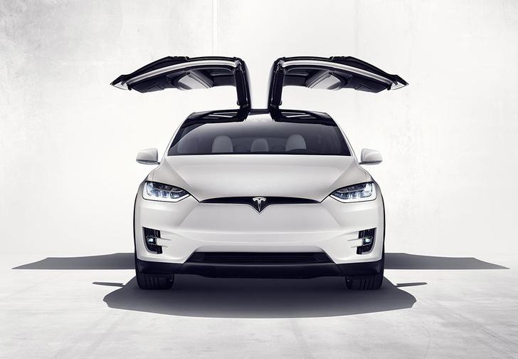 Фото №1 - Tesla показала свой новый кроссовер Tesla Model X