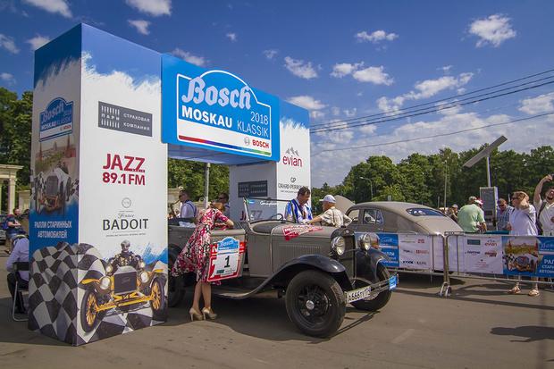 Фото №3 - Старики заводят моторы: в Москве прогремело ралли классических автомобилей