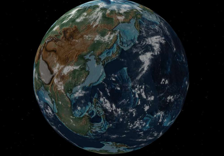 Фото №6 - Интерактивный глобус, который покажет, где находился бы твой город 750 миллионов лет назад