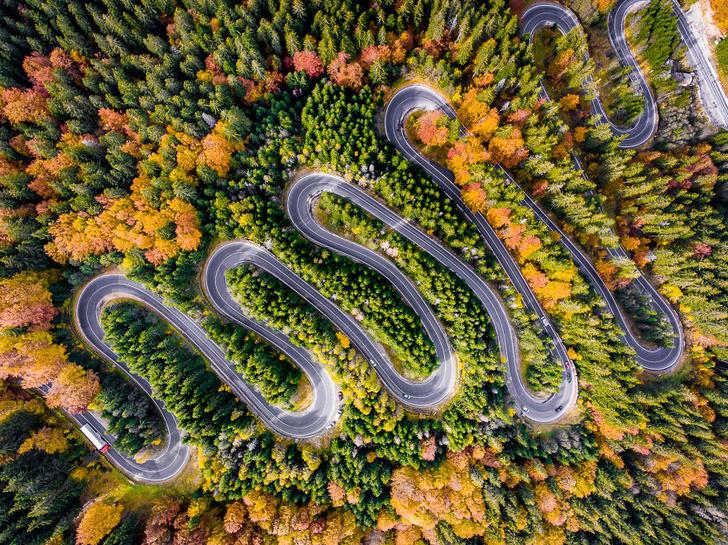 Фото №1 - Трансильвания: место с самыми извилистыми дорогами (20 наглядных фотографий)