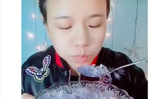 Новый китайский флешмоб — есть лед