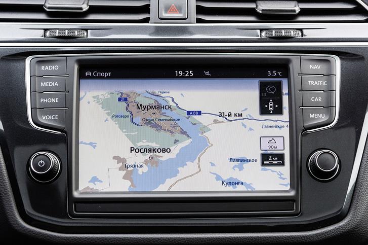 Фото №3 - И целого асфальта мало: наш тест-драйв Volkswagen Tiguan в условиях Русского Севера