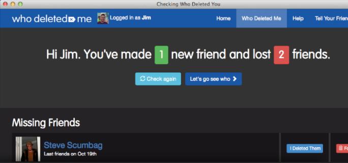 Фото №2 - Как узнать, кто удалил тебя из друзей в  «Фейсбуке» и «Твиттере»?