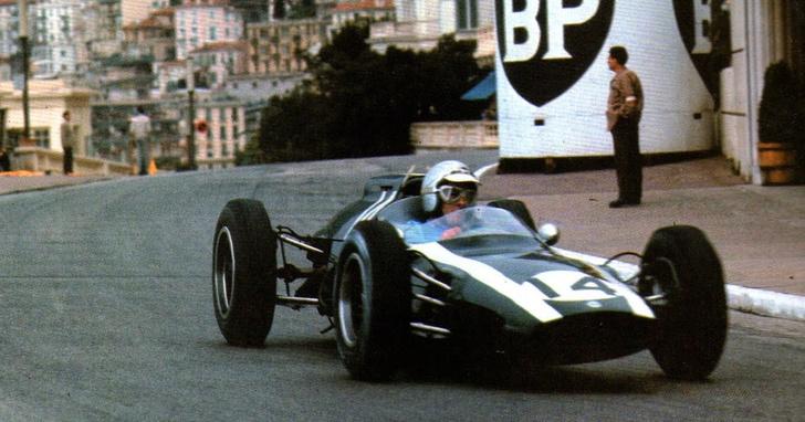 Фото №1 - Минутка истории: запись Гран-при Монако 1962 года из кабины пилота (видео)