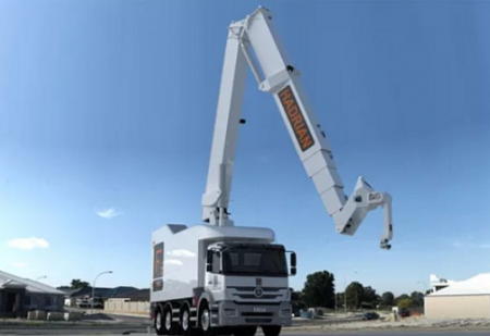 Робот-строитель кладет 1000 кирпичей в час (ВИДЕО)