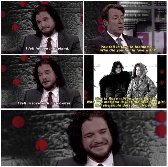 Кит признается, что любит Роуз