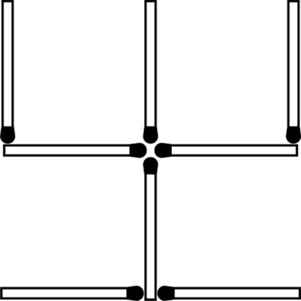 Фото №1 - Невероятная задачка со спичками!