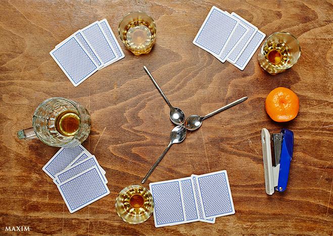 Спиртакиада! 11 алкогольных игр!