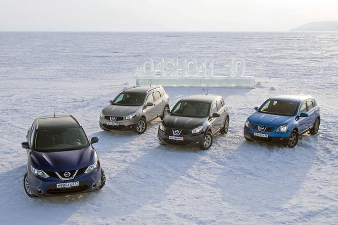 Nissan Qashqai: 10 лет в России