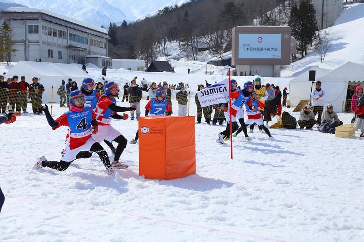 Фото №1 - Японцы предлагают включить игру в снежки в олимпийскую программу