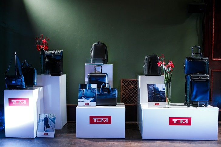 Фото №2 - Презентация TUMI в особняке Смирнова: самое интересное