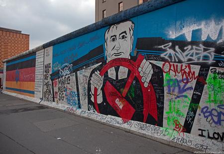 Власти Берлина решили не восстанавливать Берлинскую стену