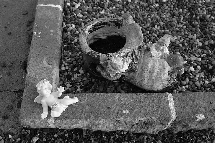 Детское кладбище в Талламоре