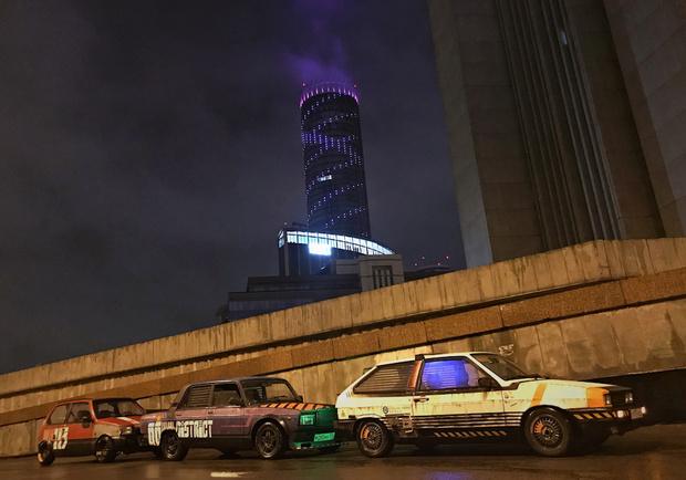 Фото №8 - Житель Екатеринбурга создает автомобили как из игры Cyberpunk 2077 и фильмов про жуткое техногенное будущее (много фото)