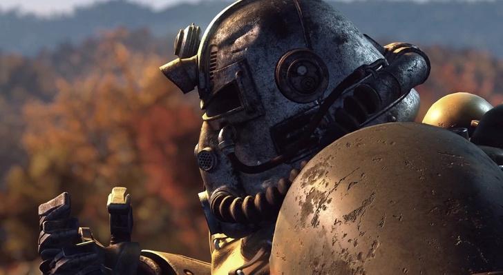 Фото №1 - Игровые журналы опубликовали геймплей-видео Fallout 76