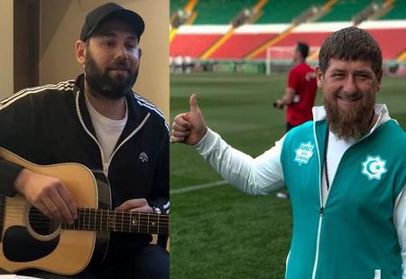 Слепаков в песне предложил назначить Кадырова главным тренером сборной России по футболу. И Кадыров ответил!
