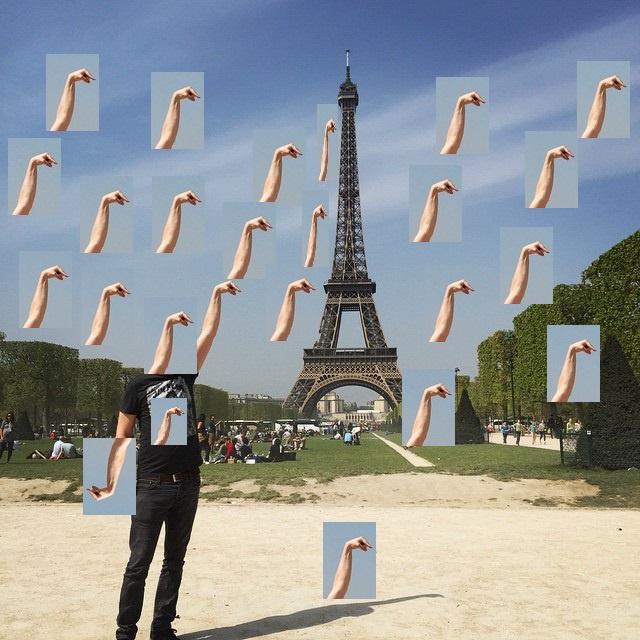 Эйфелева башня фотошоп