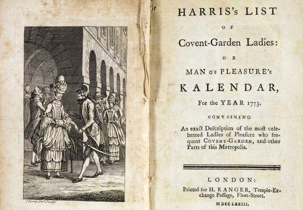 Фото №2 - Изысканная реклама проституток XVIII века