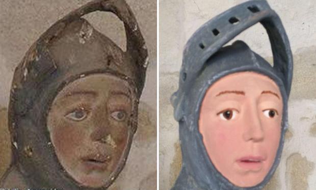 Фото №1 - Святой Георг с похмелья — ещё один шедевр реставрации