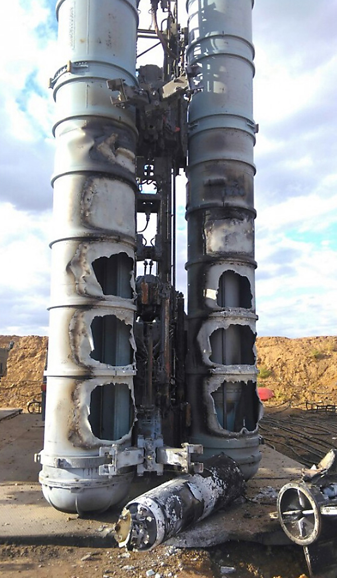 Фото №3 - Очевидец снял на видео взрыв неудачно стартовавшей зенитной ракеты С-300