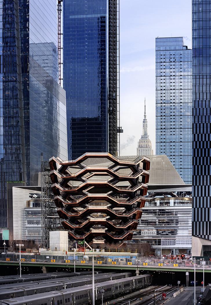 Фото №2 - Куда не ступала нога лифта: «Сосуд» — нью-йоркская новостройка для прогулок по лестницам