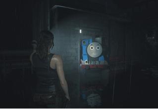 Главного зомби в игре Resident Evil 2 заменили на паровозик Томас (видео)