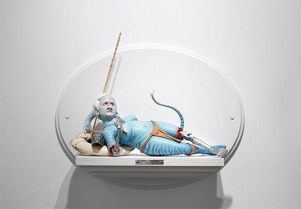 Фото №17 - Скульптор создает диковатые статуэтки знаменитых кинорежиссёров