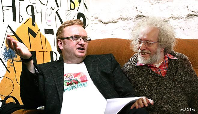 Алексей Венедиктов и Виталий Милонов