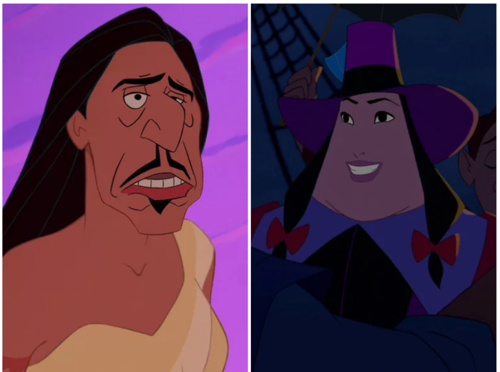 Фото №7 - Вот как выглядят диснеевские герои и злодеи, если их лица поменять местами