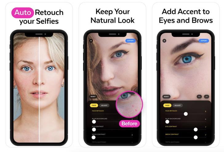 Фото №1 - Авторы приложения Prisma выпустили приложение для ретуши портретов при помощи ИИ