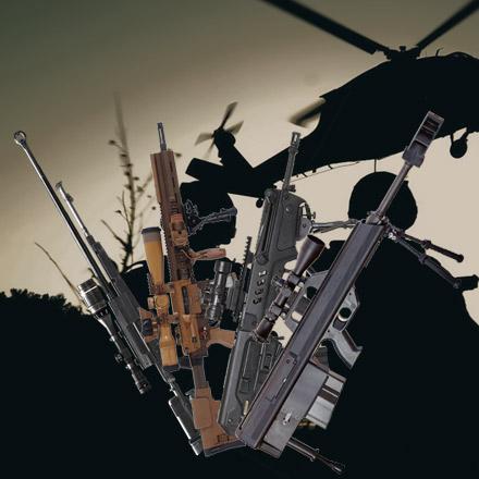 Фото №1 - 4 главные снайперские винтовки