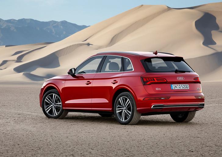 Фото №2 - Встречай новый кроссовер Audi Q5
