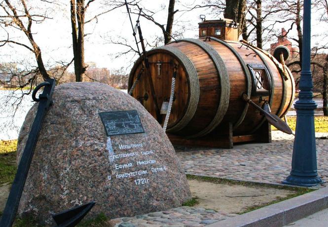 царь-подлодка русский крестьянин построил первую военную субмарину