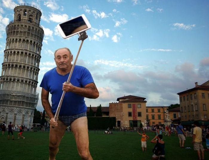 Фото №13 - Герой Интернета: мужик с лопатой и в трусах