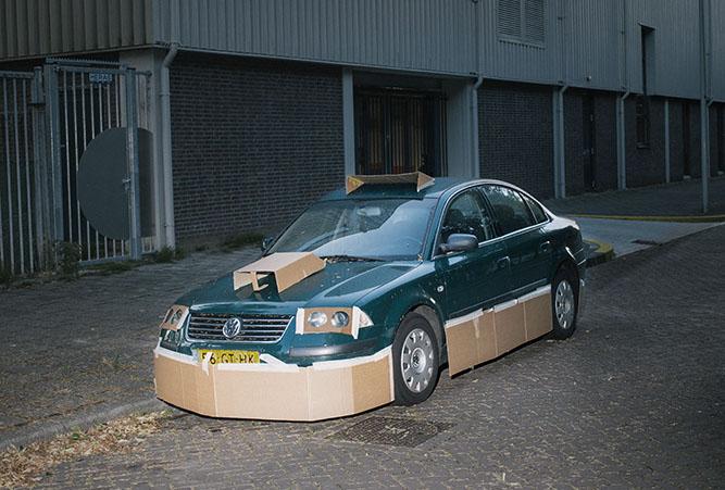 Фото №8 - Картонный тюнинг от амстердамского художника